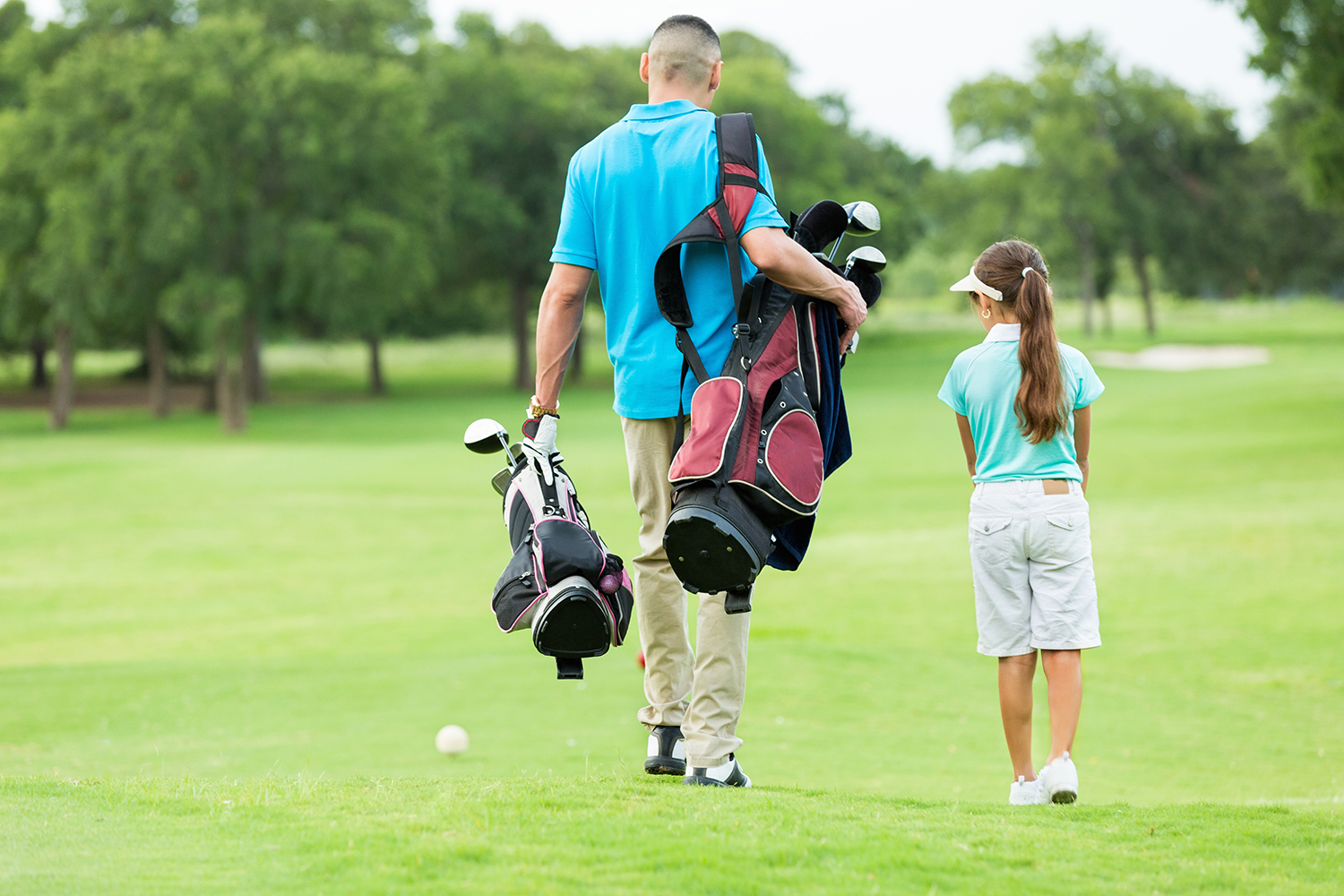 Parent/Child Golf Lessons at Little Hay